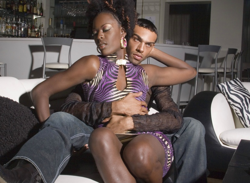 Aiko Lounge. Atlanta, Ga Mar 23, 2008 Leslie Andrews B. and Me...