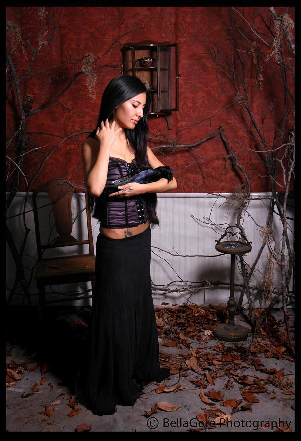 Female model photo shoot of BellaGore and Book of Luna in Richmond,Va