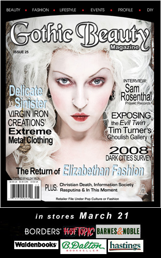 Mar 25, 2008 Gothic Beauty cover