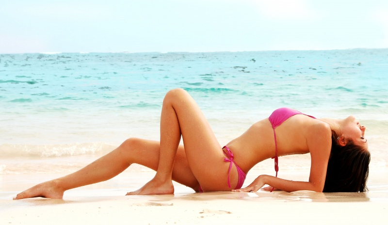 Female model photo shoot of A N Y A in Dominican Republic