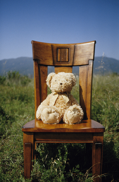 Nowhere. Didnt you read the sentence above? Mar 27, 2008 Z. Watkins This is a bear on a chair in the middle of nowhere.
