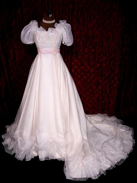 Tc Vintage Beautiful Victorian Wedding Dress