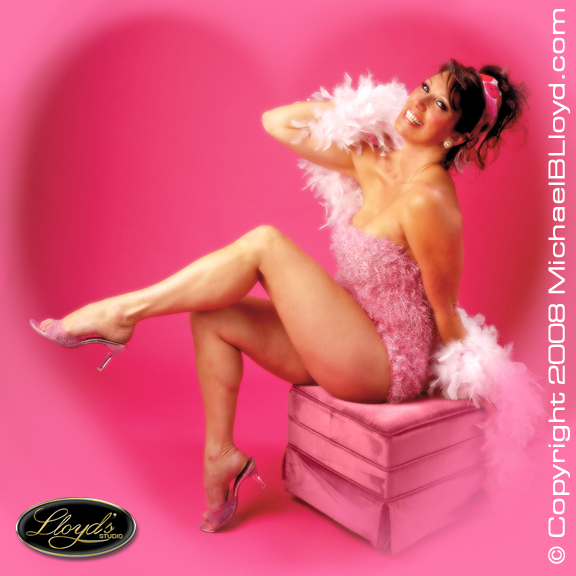 Boca Raton, FL Mar 29, 2008 Lloyds Studio Photography Sheri Shea is Pretty in Pink