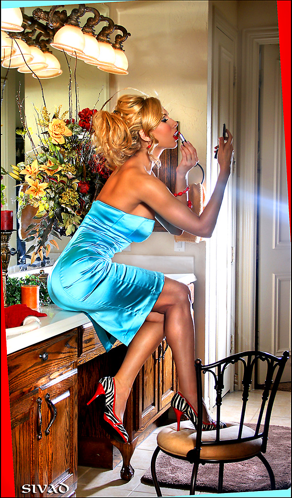Male and Female model photo shoot of SiVad and Marzia Prince by SiVad in IN HER BIG A** HOUSE - FRISCO, TX