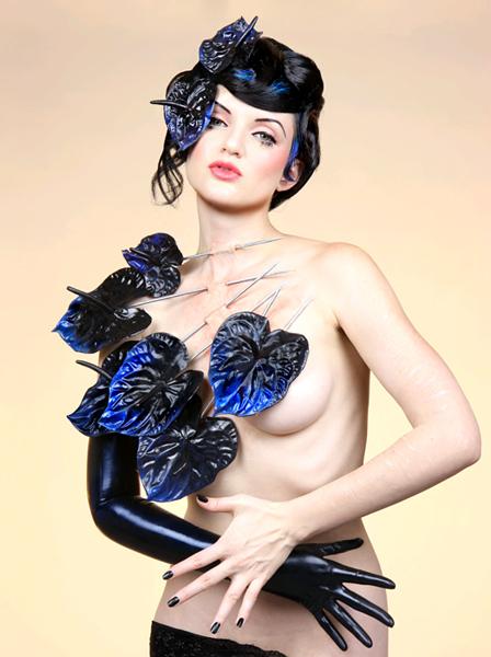 Mar 30, 2008 Art Direction: Mildred Von/Mother of London. Photography: Nadya Lev. Piercing Series