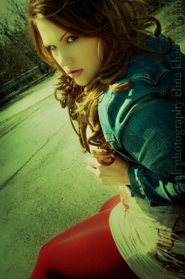 Female model photo shoot of Ashlei E by e a k in Columbus, Ohio