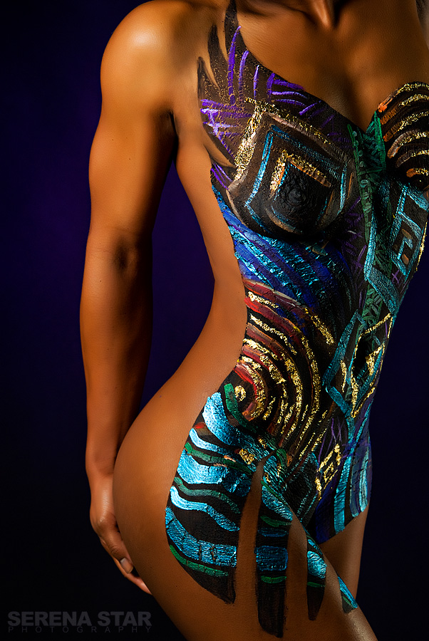 Apr 01, 2008 Serena Star Model: Shronda Bodypaint:Jzino Makeup:Me