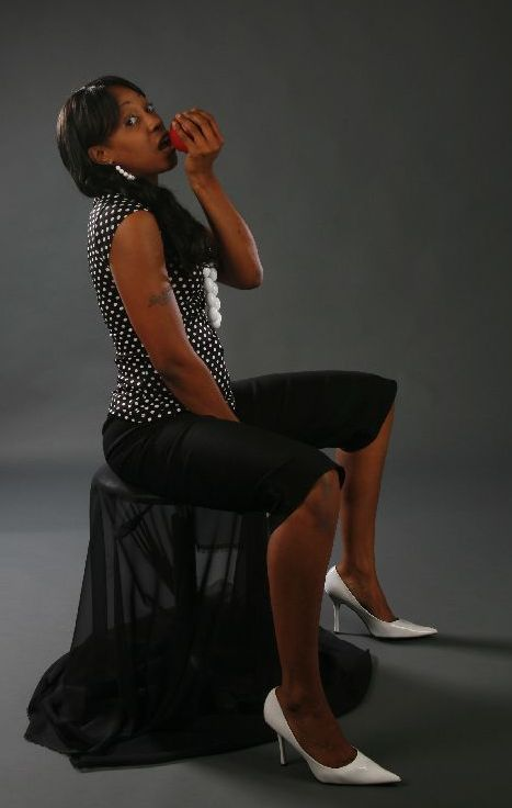 Female model photo shoot of Nyohmi Wines in In Studio