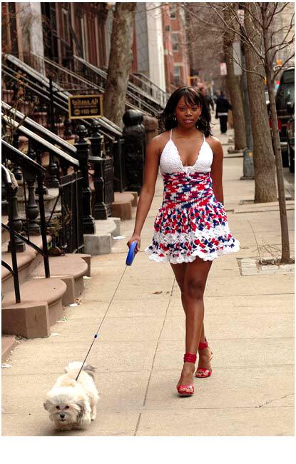 Brooklyn Apr 01, 2008 Chila for Fun Flag Dress