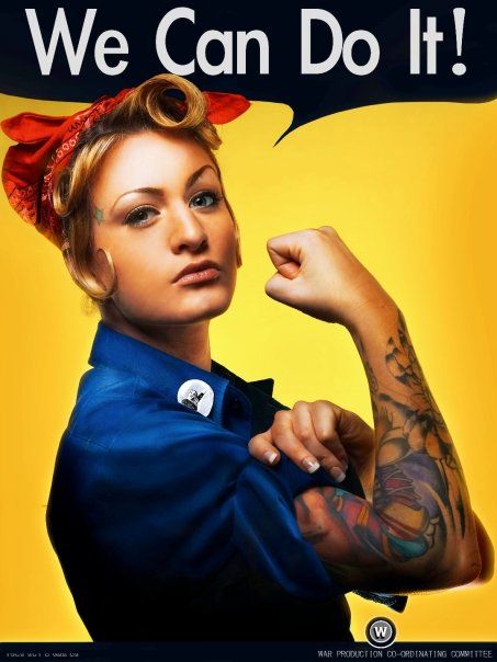 Apr 02, 2008 Jen Kennedy A new age Rosie the Riveter