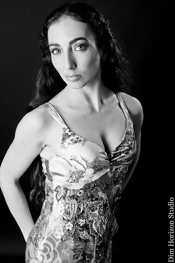 Female model photo shoot of Tinyballerinamodel by Dim Horizon Studio