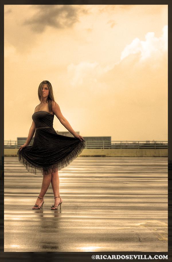 Miami Apr 04, 2008 Ricardo Sevilla  Black Dress