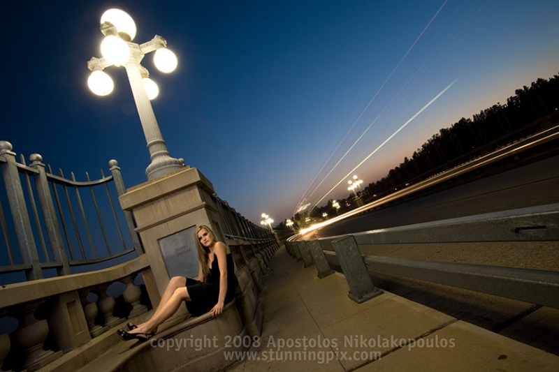 Male and Female model photo shoot of stunningpix and elicia ukezic345 in SoCal, where else!, makeup by Kadi Dugan Makeup