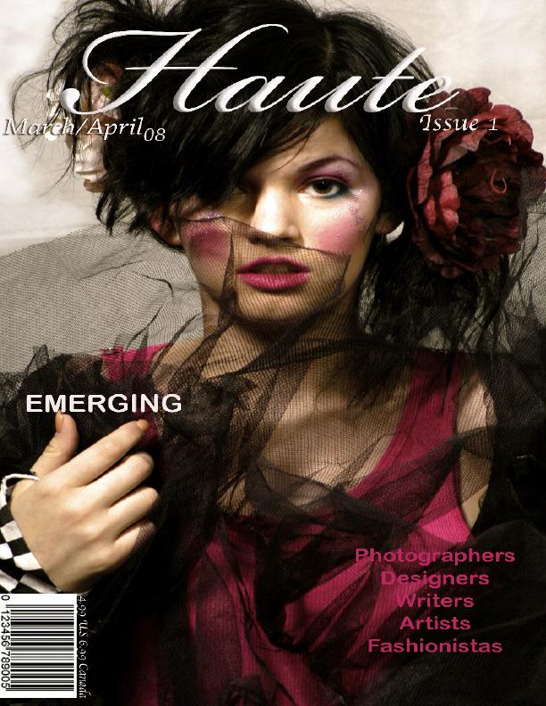 Apr 05, 2008 Mark Vargas Haute Magazine Cover