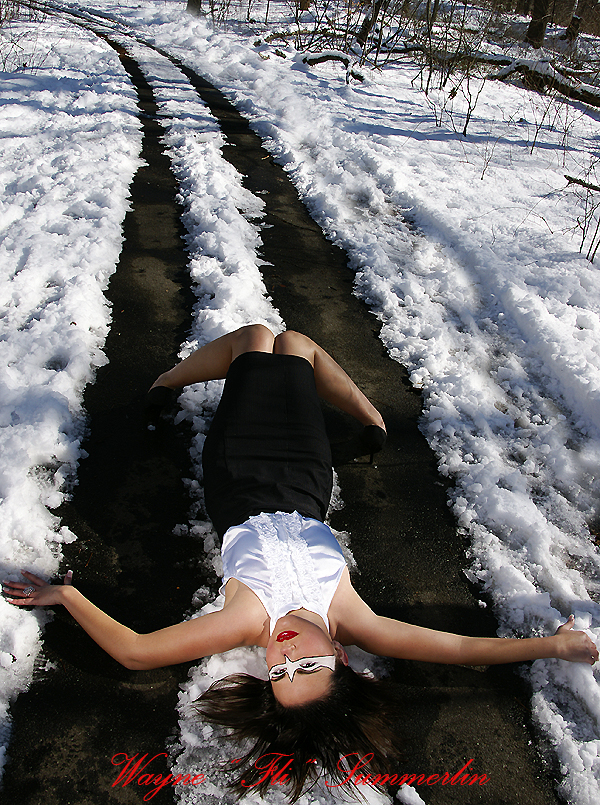 in the snow Apr 06, 2008 Wayne Fli Summerlin Go hard or go home.