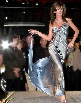detroit Apr 06, 2008 ferrari fashion show