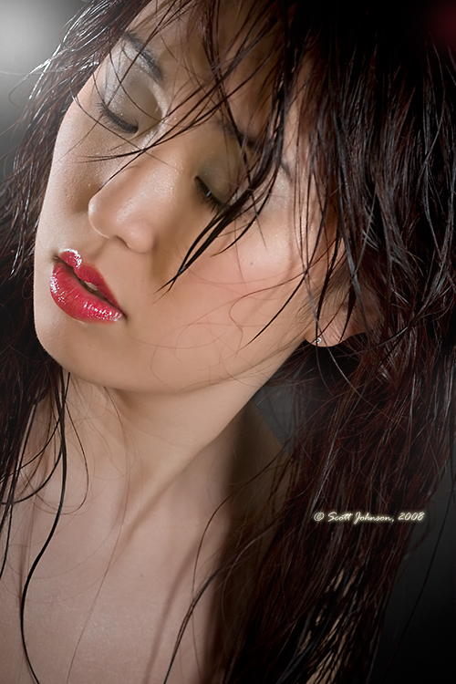 Female model photo shoot of ariii by Scott Johnson Studios in wasau, makeup by Xtreme MUAtrz