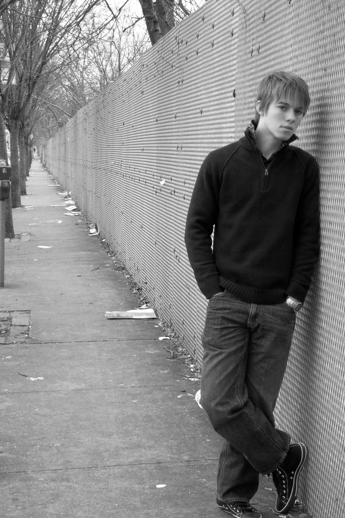 Male model photo shoot of Ross M in Brooklyn, NY