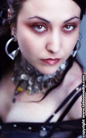 Female model photo shoot of Keri L MissAnthrope in myspace page