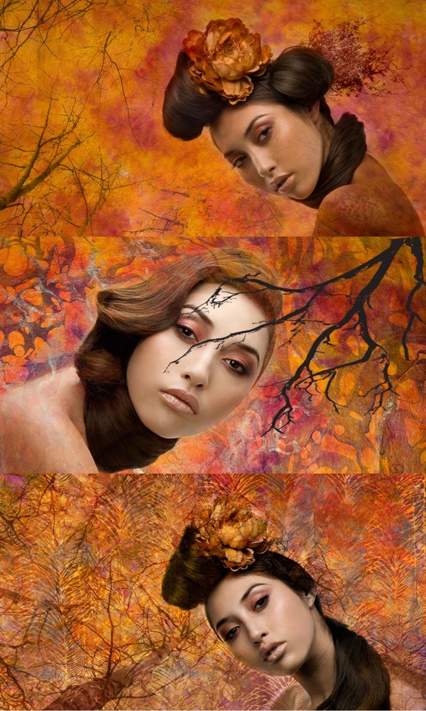 LA Apr 08, 2008 Dan Santoso 2008 Romancing The Fall. Hair by Larry McDaniel