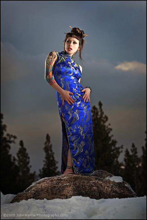 Sleve Tattoo By: Mike Pritchett Matchless Tattoo Sebastopol, Ca Apr 09, 2008 (Hair, Styling & Make up by: Me) :::Snow Geisha:::