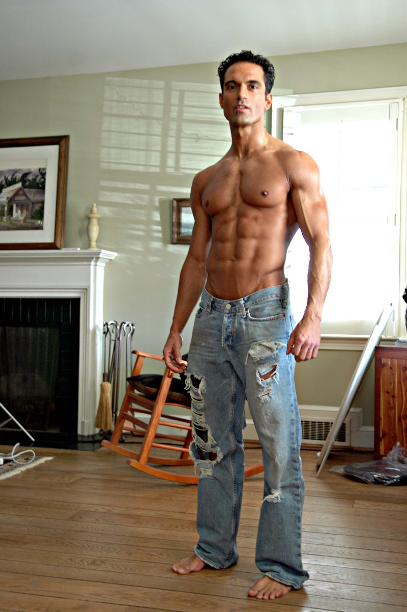 Male model photo shoot of JuanManuel H and Tim Taylor in Zuck's Manssion
