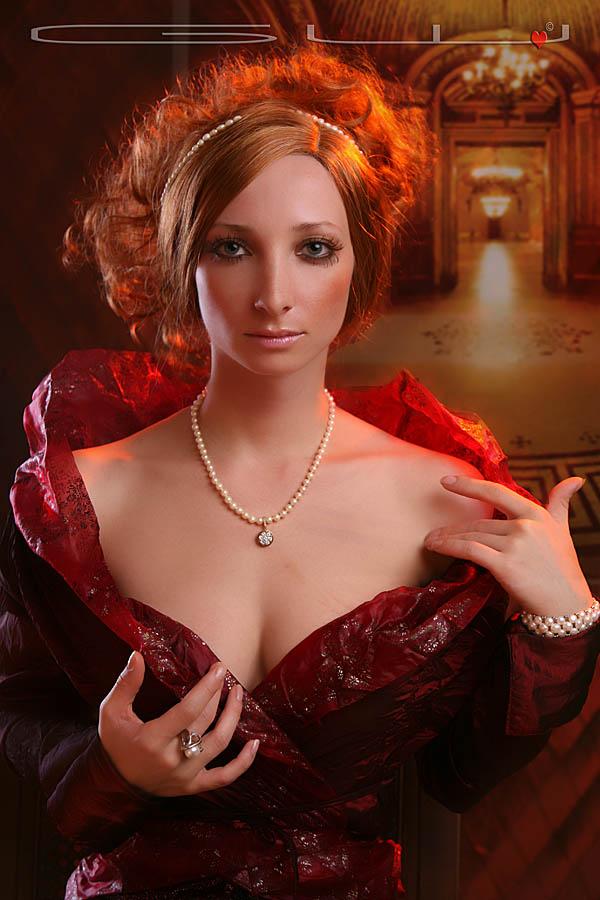 Female model photo shoot of Alina Belochka by GW Burns in Sarasota, makeup by Nikita-gatita