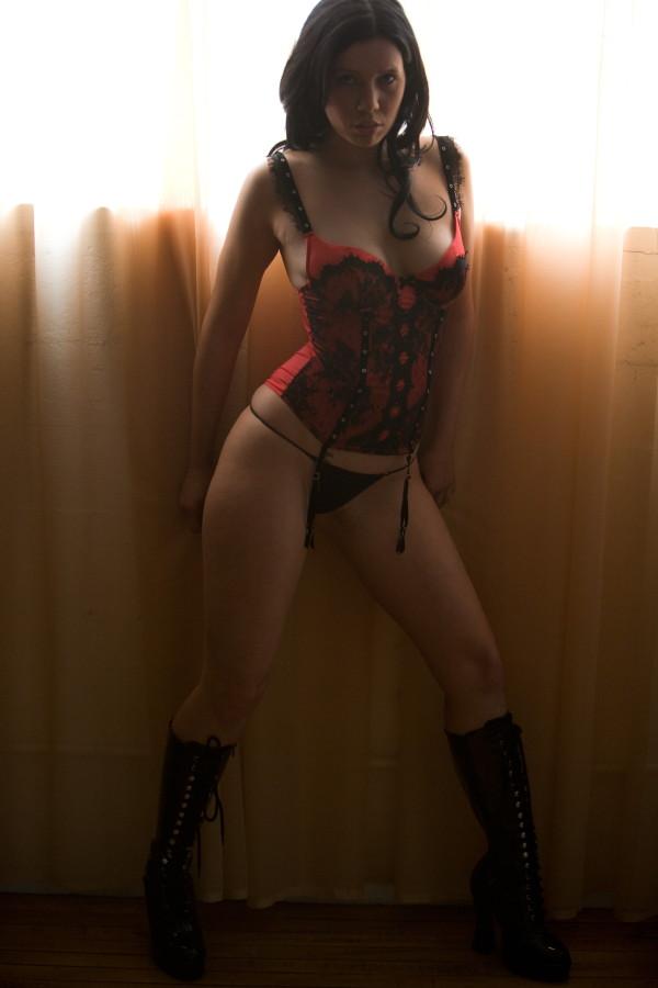 Female model photo shoot of Cherrybella in Los Angeles, California