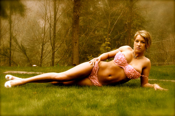 Female model photo shoot of Lisa Wolfin and Melyssa Buhl in West Vancouver