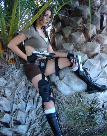 Sac Anime 2007 (Anime Convention) Apr 13, 2008 me Myself as Lara Croft