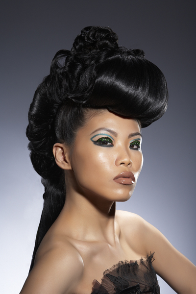 NY Apr 13, 2008 Photo: Eric Von Lockhart, Makeup: Danessa Myricks, Hair: Tasha Camp Danessa Myricks Beauty DVD