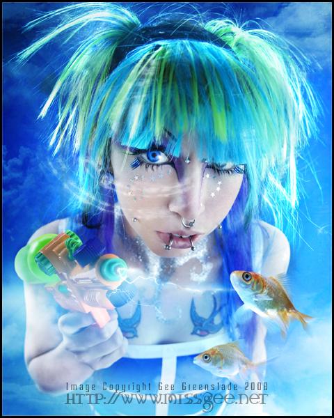 Female model photo shoot of Zephyr Elf in Greenhouse Studio