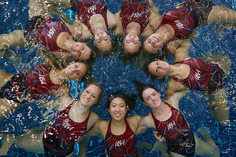 Indianapolis Apr 14, 2008 Start To Finish Photo 2007 US Synchro Olympic Team 2008 published on MSNBC.com