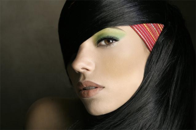 Female model photo shoot of Pink Makeup Artistry
