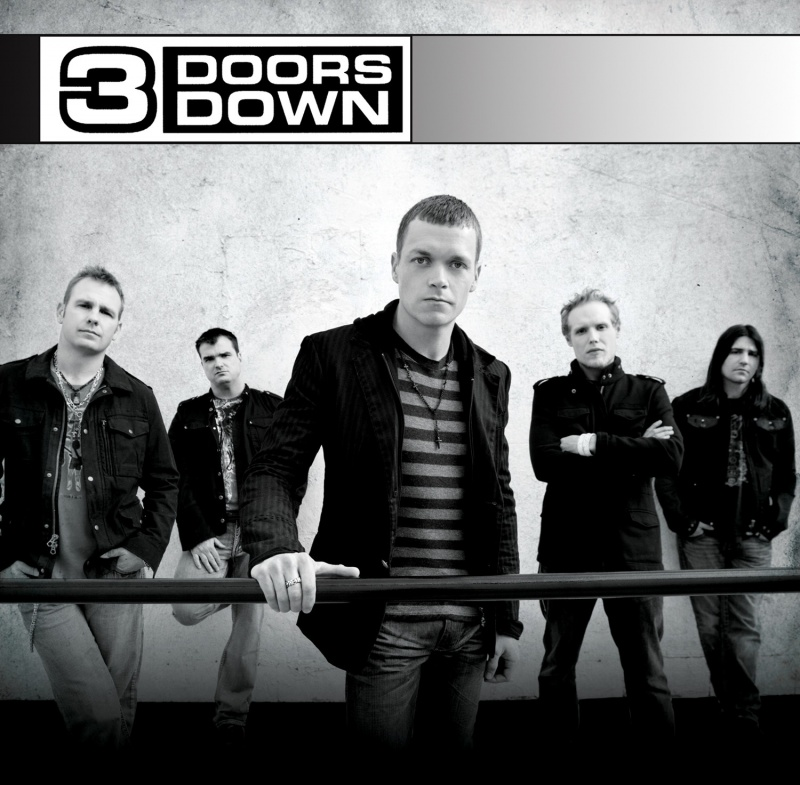 Nashville Apr 15, 2008 2008 3 Doors Downs new album cover 04/08, just hit #1 selling album in the US