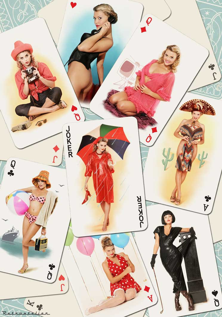 Dnepropetrovsk Apr 15, 2008 Retroatelier Pinup cards