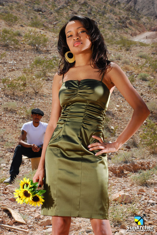 Male and Female model photo shoot of SunArcher Photography and Judy Anderson by Ransomaniac in Las Vegas, NV