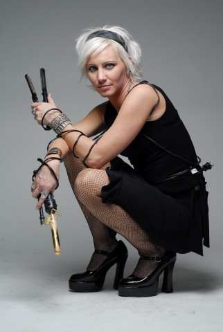 Female model photo shoot of Hair by Jeanette Marie in detroit