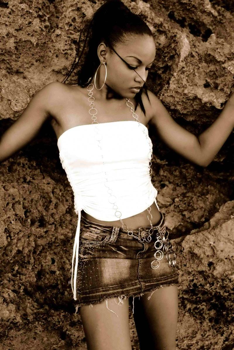 Female model photo shoot of Splexytesha by Donald Knowles in Orange Hill Beach, Nassau Bahamas