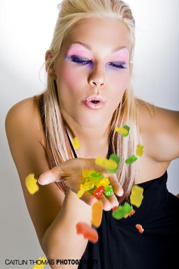 Female model photo shoot of Caitlin Thomas and CJL, makeup by Molly McMenamin