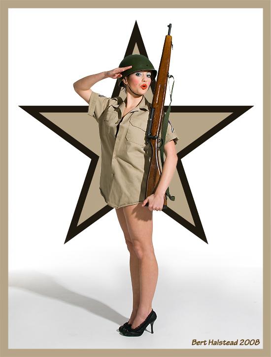 CoverShot Studio Apr 19, 2008 Bert Halstead Youre in the Army now!