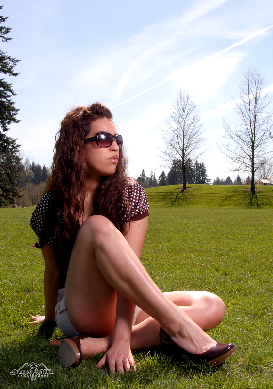 Female model photo shoot of Miss Perez