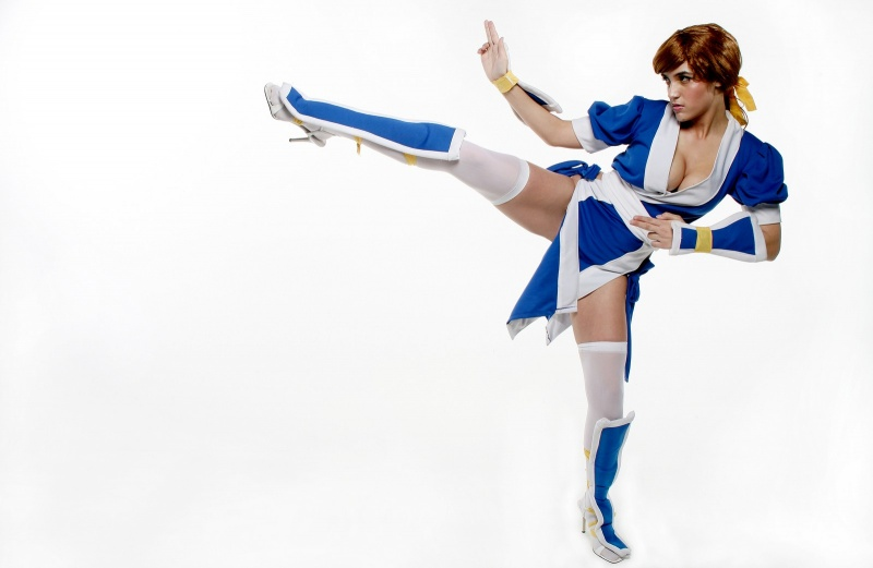 Apr 22, 2008 2008 Vince Hobbs/Orlando Sentinel Kasumi from DOA  I seriously hate that wig...but I loved making that costume!