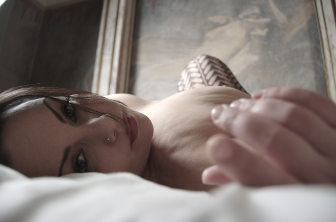 Female model photo shoot of Mockingbird Girl by Kentsoul in Room 9B
