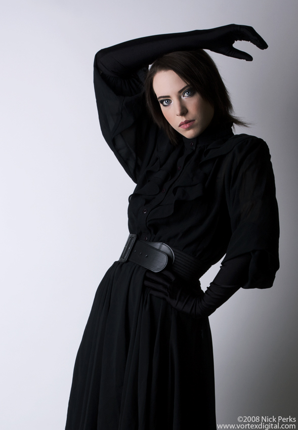 Female model photo shoot of Ella Beau by Nick Perks, makeup by Cynthia Jade Farkas