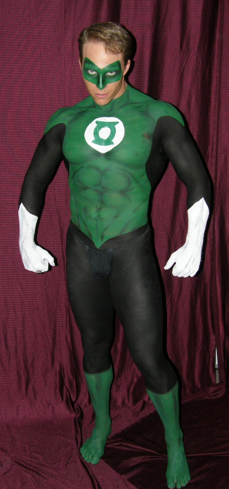 Las Vegas Apr 24, 2008 Patrick as Green Lantern