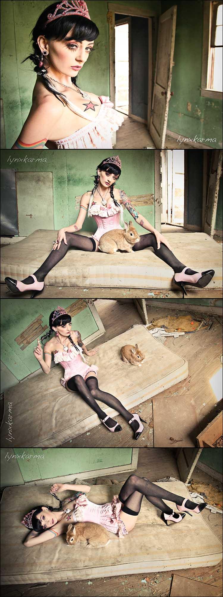 :) Apr 25, 2008 Lynxkarma Photography (Kira Bucca) Zui with the amazing B Rabbit!