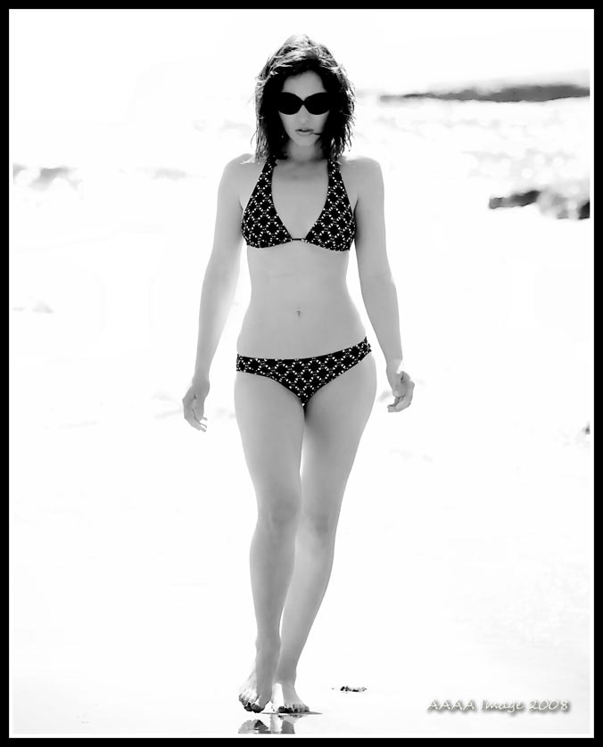 Female model photo shoot of Jezyka Elizabeth by AAAA IMAGE in Natural Bridges, Santa Cruz