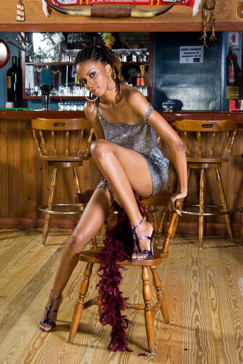Lucky Horseshoe, Barbados Apr 26, 2008 Kareem Abdullatif Photography Las Vegas Showgirl Themed Shoot (Face of Shabeau Model Competiton)