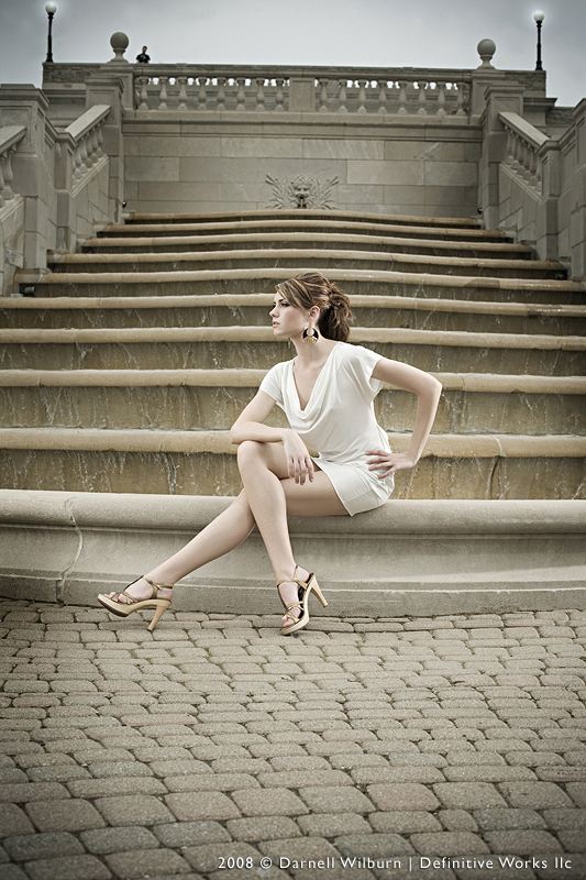 Female model photo shoot of BrittanyJeanE by DarnellWilburn